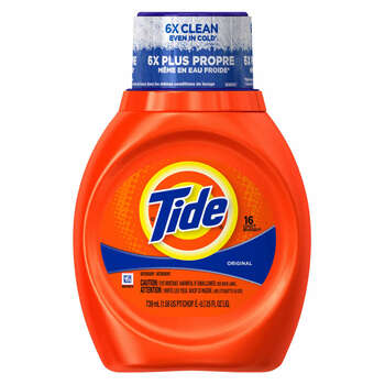 Tide Liquid Laundry Detergent, 25 Oz Bottle (1 Count)