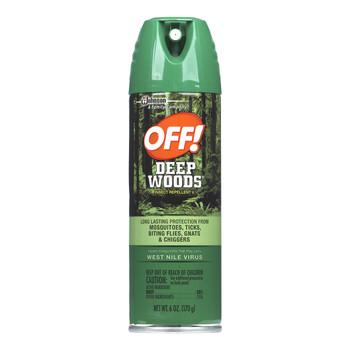 OFF! Deep Woods, Insect Repellent, 6 Oz Aerosol (1 Count)