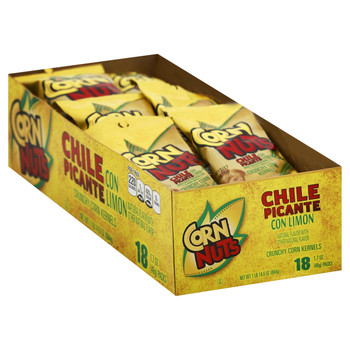 Corn Nuts, Chile Picante con Limon 1.7 oz. (18 count)