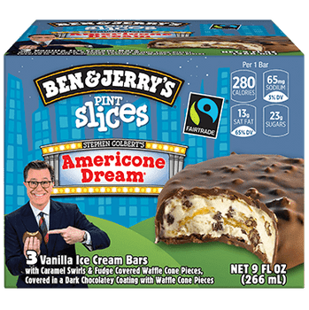 Ben & Jerry's Americone Dream Pint Slice 3.0 oz. (3 Count)