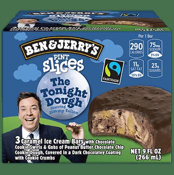Ben & Jerry's Tonight Dough Pint Slice 3.0 oz. (3 Count)