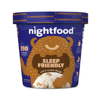 Nightfood Milk & Cookie Dough, Pint (1 count)