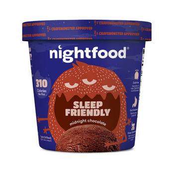 Nightfood Midnight Chocolate Ice Cream Pint (1 count)
