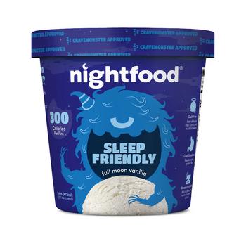 Nightfood Full Moon Vanilla, Pint (1 count)