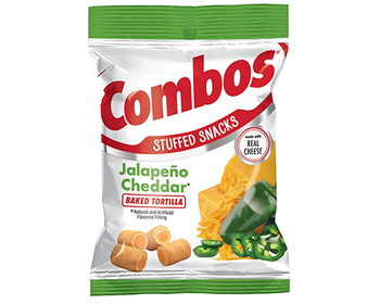 Combos, Jalapeno Cheddar Tortilla, 6.3 oz. bag (1 count)