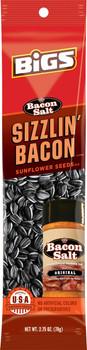 BIGS, Sunflower Seeds, JD's Bacon Salt Sizzlin' Bacon SLAMMER, 2.75 oz. (12 Count)