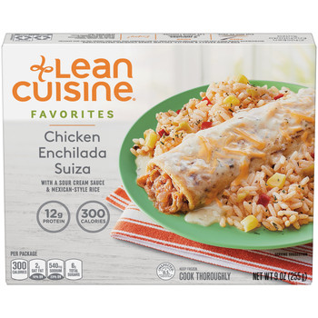 Lean Cuisine Favorites Chicken Enchilada Suiza, 9.0 oz. (1 count)