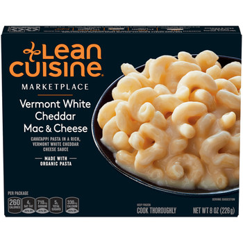 Lean Cuisine Marketplace Vermont White Cheddar Mac & Cheese, 8 oz. (1 count)