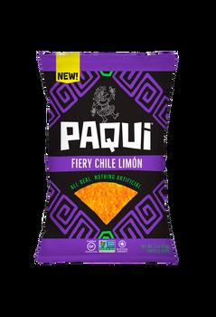 Paqui Tortilla Chips, Chile Limon, 2.0 oz. bag (1 count)