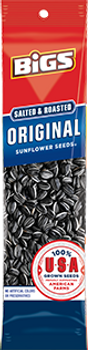 BIGS, Sunflower Seeds, Salted and Roasted Original SLAMMER, 2.75 oz. (12 Count)