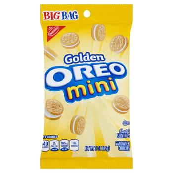 Nabisco Oreo Mini, Golden BIG BAG, 3.0 oz. bag (1 count)