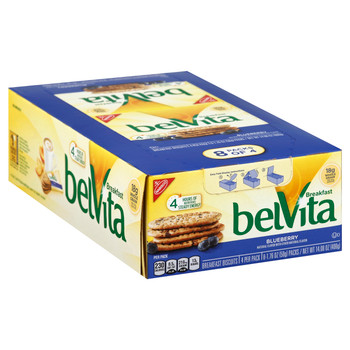 Belvita Blueberry Biscuits, 1.76 oz (8 count)