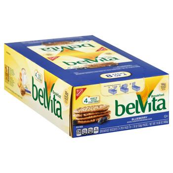 Belvita Blueberry Biscuits, 1.76 oz (8 count)