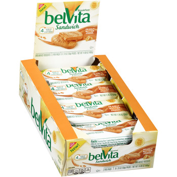 Belvita Peanut Butter Biscuit, 1.76 oz. (8 count)