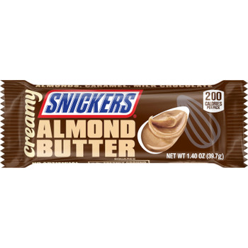 Snickers, Creamy Almond Butter, 1.4 oz. Bars (case of 24)