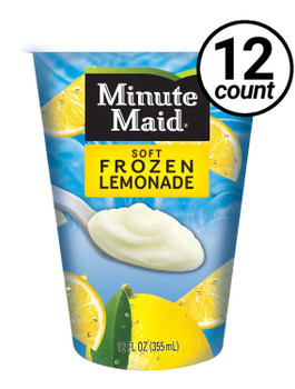 Minute Maid Soft Frozen Lemonade Cup, 12 oz cup (12 count)