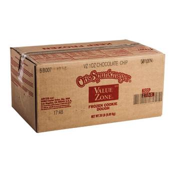 Otis Spunkmeyer Value Zone Chocolate Chip Cookie Dough. 1 Ounce - 320 per case