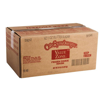 Otis Spunkmeyer Value Zone Sugar Cookie Dough. 1 Ounce - 320 per case