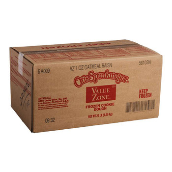 Otis Spunkmeyer Value Zone Oatmeal Raisin Cookie Dough. 1 Ounce - 320 per case