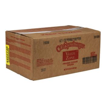 Otis Spunkmeyer Value Zone Peanut Butter Cookie Dough. 1 Ounce - 320 per case