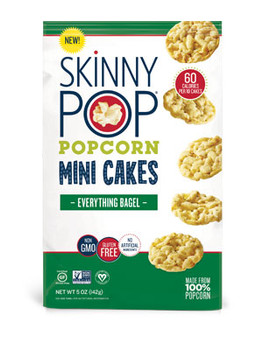 Skinnypop Everything Bagel Mini Cakes, 5.0 oz. (1 count)