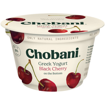 Chobani, Black Cherry Greek Yogurt, 5.3 Ounces - (12 count)