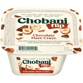 Chobani, Low Fat Chocolate Haze Craze Flip Greek Yogurt, 5.3 oz - (12 count)