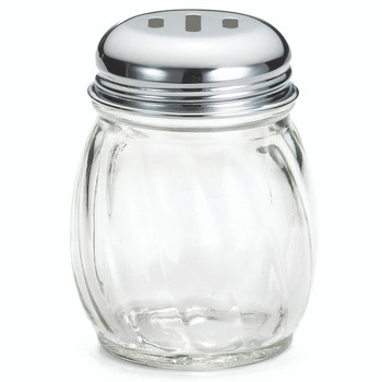 Tablecraft 6 oz. Slotted Cheese Shaker (12 count)