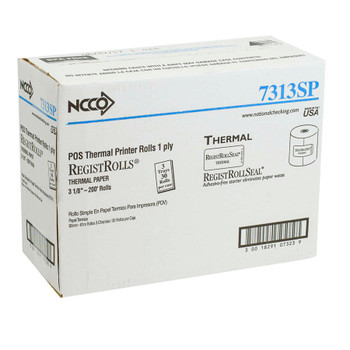 National Checking, Thermal Register Roll 3.13 x 200, (30 count)
