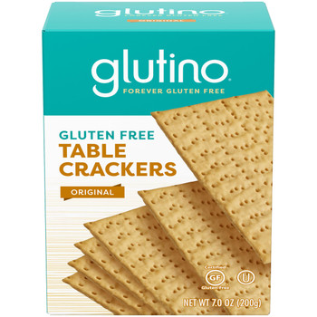 Glutino, Gluten Free Table Crackers, 7 oz. (12 count)