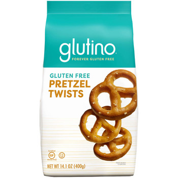 Glutino, Gluten Free Pretzel Twist, 14.1 oz bag (12 count)