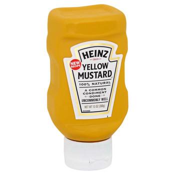 Heinz, Kosher Yellow mustard, Top Down, 13 oz. (16 count)