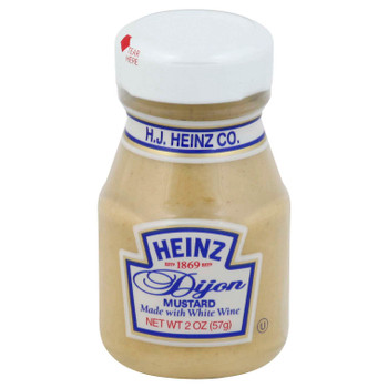 Heinz, Dijon Mustard, 2 oz. mini jar, (60 count)
