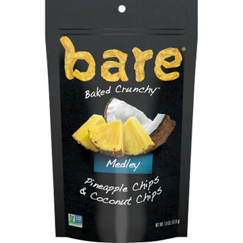 Bare Baked Crunchy, Coconut Medley, 1.8 Oz (12 Count)