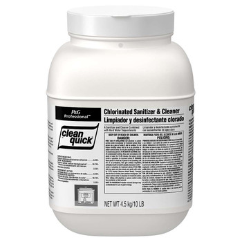 Clean Quick, Chlorine Santizer & Cleaner Concentrate Powder, 10 lb, (3 count)