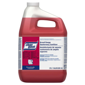 Clean Quick, Broad Range Quarternary Sanitizer, 1 gal (3 count)