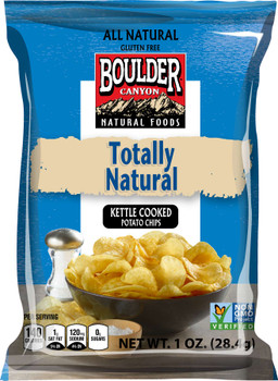 Boulder Canyon Natural Foods, Totally Natural, 1 oz. Bag (72 Count)