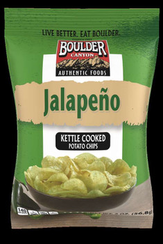 Boulder Canyon Authentic Foods, Jalapeno, 2 oz. Bag (8 Count)