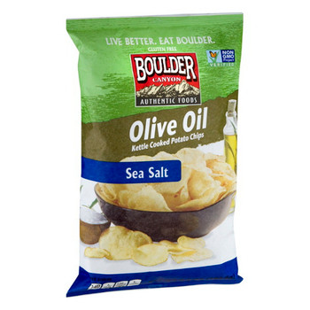 Boulder Canyon Authentic Foods, Olive Oil , 6.5 oz. Bag (12 Count)