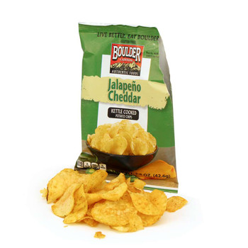 Boulder Canyon Natural Foods , Jalapeno Cheddar, 1.5 oz. Bag (55 Count)