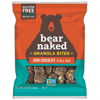 Bear Naked Granola, Dark Chocolate & Sea Salt Bites, 1.3 oz (50 count)