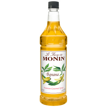 Monin, Banana Syrup, 1 L.  (4 Count)