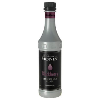 Monin, Blackberry Concentrate Flavor, 375 ml.  (4 Count)