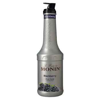 Monin, Blackberry Puree, 1 L.  (4 Count)