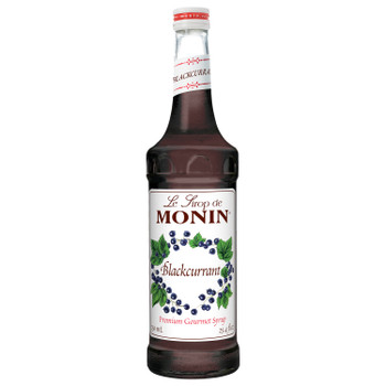 Monin, Blackcurrant Syrup, 750 ml.  (12 Count)
