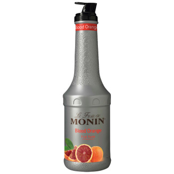 Monin, Blood Orange Puree, 1 L.  (4 Count)
