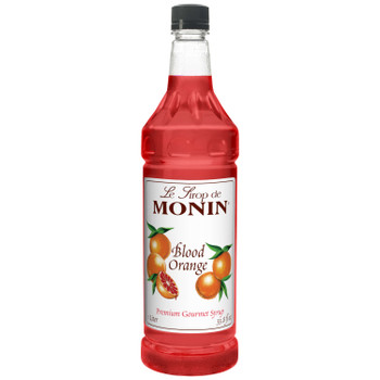 Monin, Blood Orange Syrup, 1 L.  (4 Count)