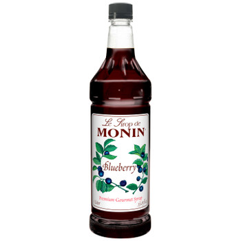 Monin, Blueberry Syrup, 1 L.  (4 Count)