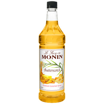 Monin, Butterscotch Syrup, 1 L.  (4 Count)