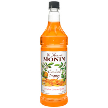 Monin, Candied Orange Syrup, 1 L.  (4 Count)